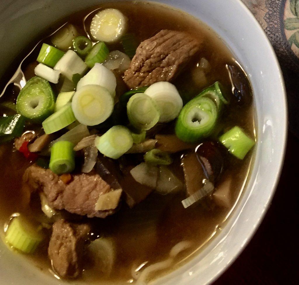 asiatisk suppe